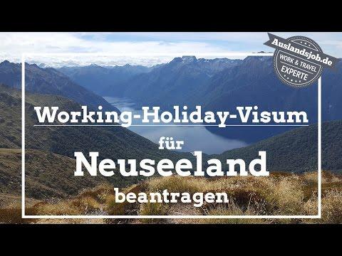 Working Holiday Visum für Neuseeland beantragen