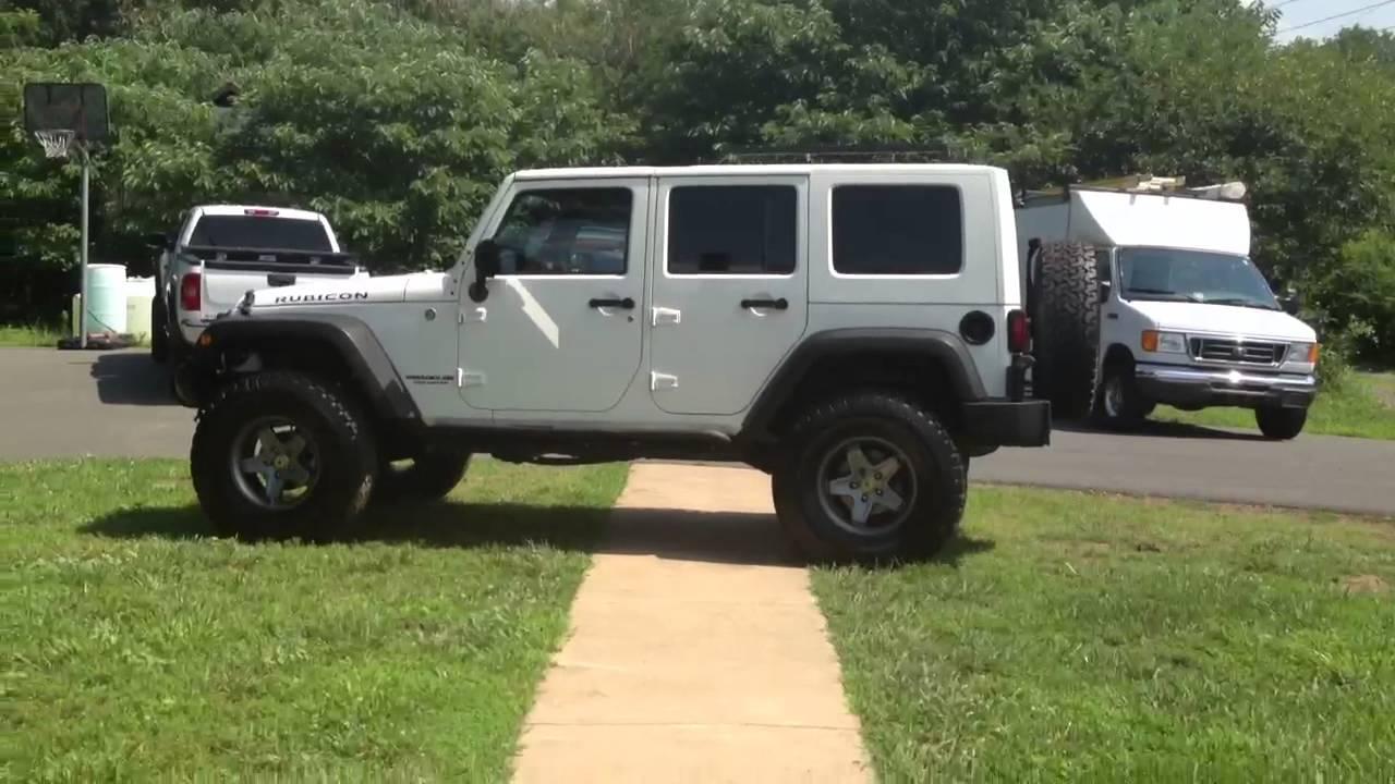 Jeep Jk Tires >> 2008 Jeep Rubicon *AEV Lift* - YouTube