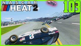 KYLE LARSON BIG AIR OF THE SEASON! |10/36| NASCAR Heat 2 Career Mode S4. Episode 103