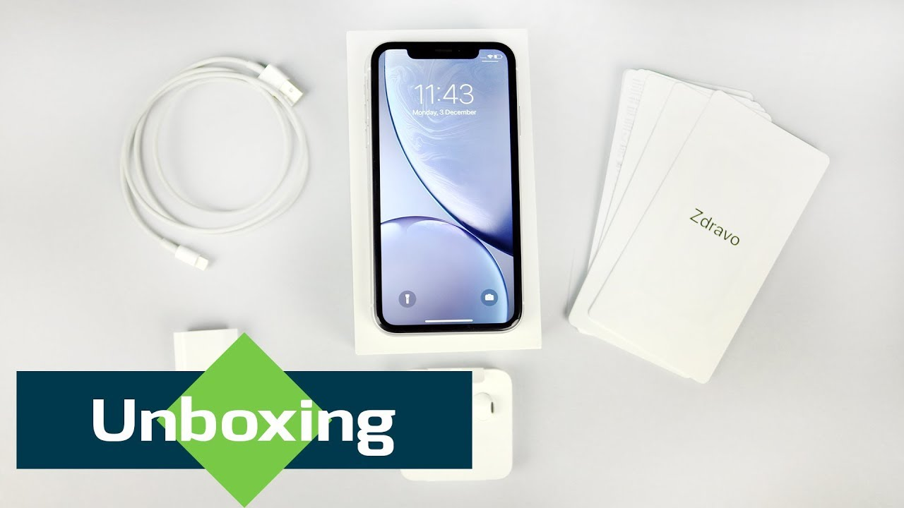 Iphone Xr Unboxing What S Inside The Box Youtube