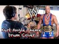 WWE - Kurt Angle's Theme - Drum Cover by Ciaran Fletcher HD