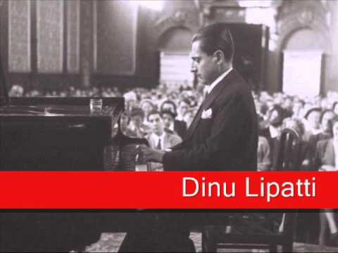 Dinu Lipatti: Chopin - Waltz No. 1 in E flat major, 'Grande Valse Brillante' Op. 18