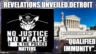 "F@%K the Police MATTERS.  ""QUALIFIED"" IMMUNITY."