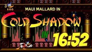 Donald Duck: Maui Mallard in Cold Shadow (PC) Any% Speedrun in 16:52
