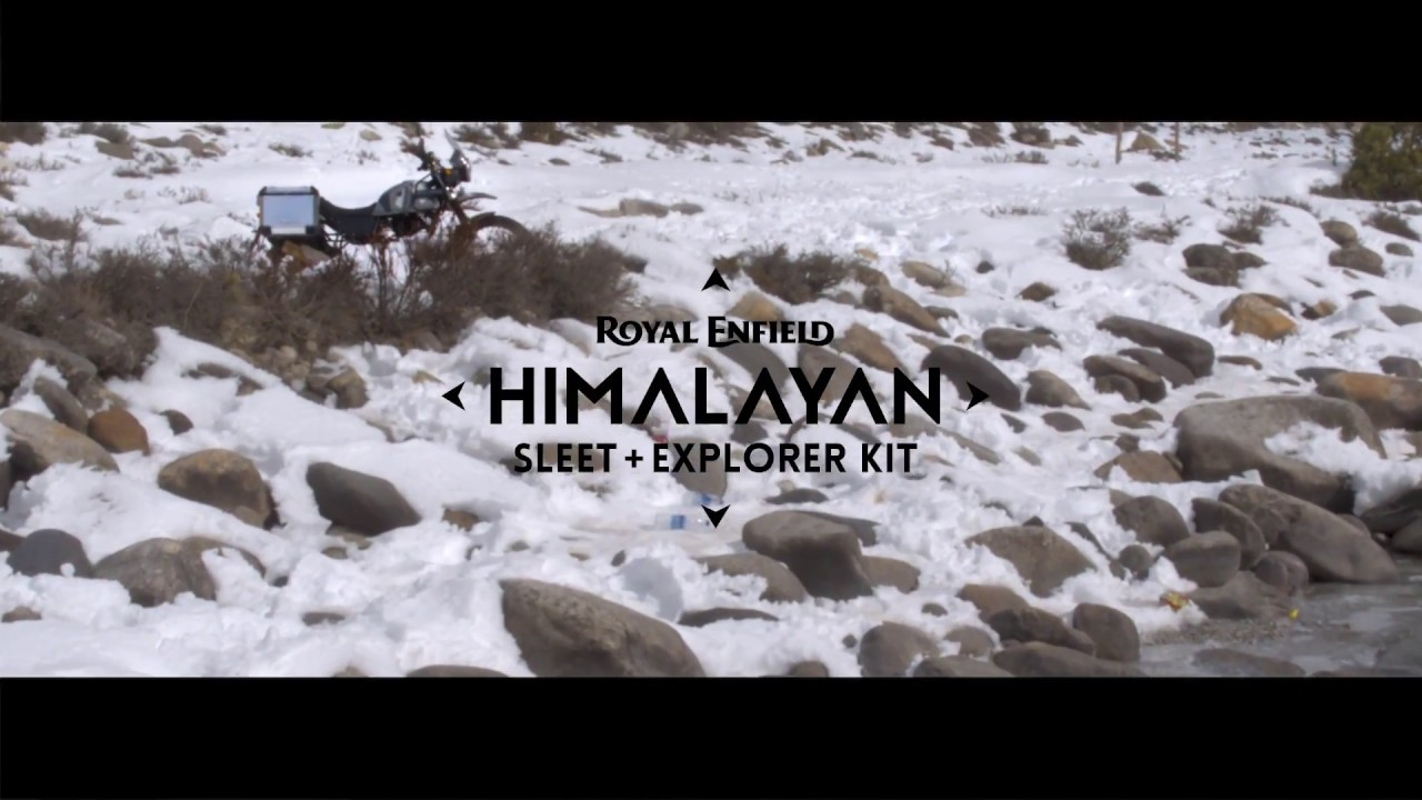 Himalayan Sleet Explorer Kit Youtube