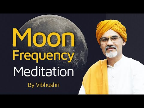 Heal Your Emotion Fast   Powerful Moon Meditation Frequency   Soothing Isochronic   Rivesh Vade