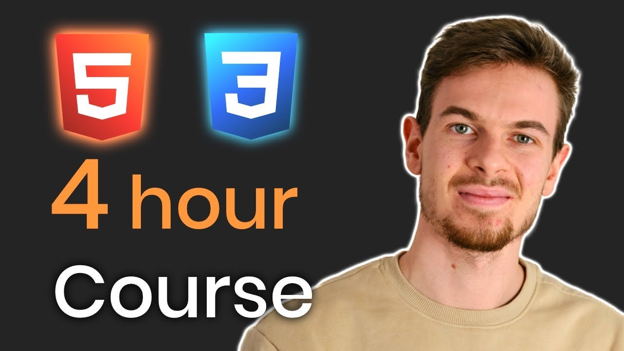 Learn HTML5 and CSS3 For Beginners - Crash Course