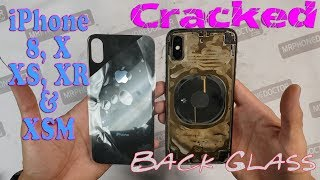 iPhone Cracked Back Glass Repair using Laser Technology & 3k Countdown Subscriber Giveaway