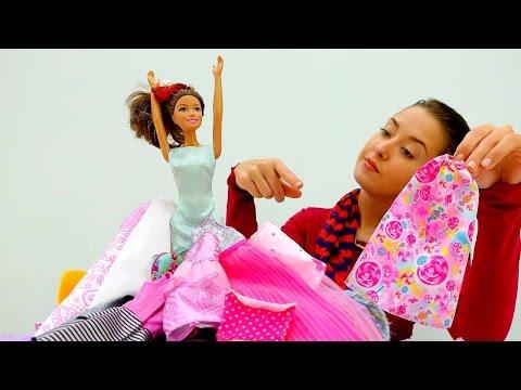 #МОНСТР ХАЙ и #БАРБИ  в салоне красоты. #одевалки и видео про куклы. Принцессы Диснея