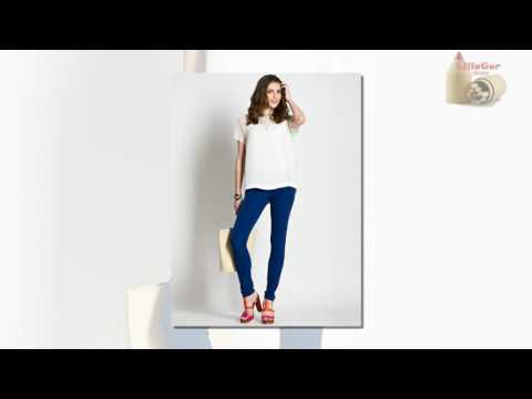 Синие брюки женские - с чем носить?