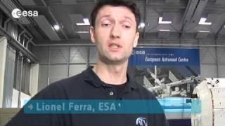 Training the astronauts for ATV - ESA expert Lionel Ferra at EAC