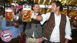 New record - Van Buyten beats Martínez and Lewandowski! | FC Bayern Legends at Oktoberfest