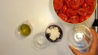 Вяленые помидоры в сушилке Ezidri Snackmacker