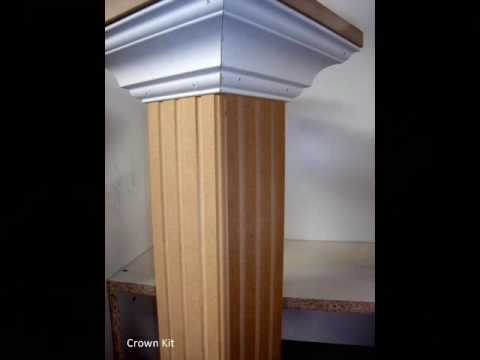 Interior Pillars In A Box Youtube