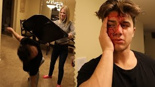SHE CRACKED HIS HEAD OPEN WITH A CHAIR! thumbnail