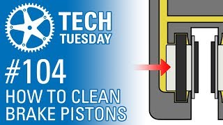 How To Clean Hydraulic Brake Pistons - Tech Tuesday #104