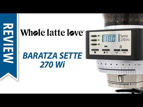 Review Baratza 270Wi Coffee Grinder at SCA Expo 2018