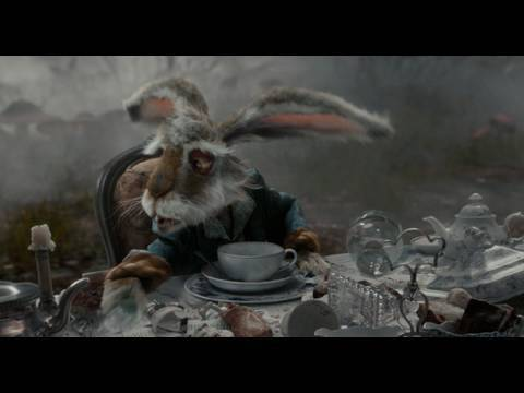 Alice in Wonderland: Tea Party (1080 HD Scene)
