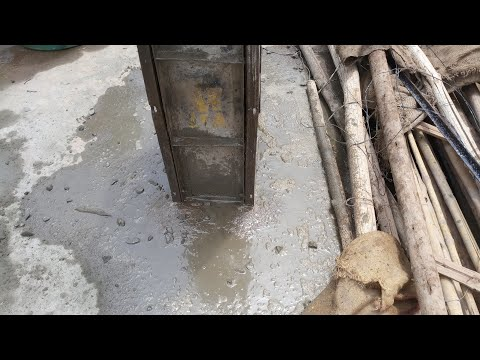 Mistakes during concreting column