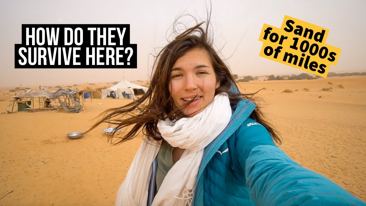 I Stayed with a Nomadic Family in the Sahara (Mauritania)