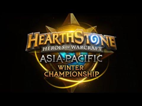 DDaHyoNi vs Pinpingho - Asia Pacific Hearthstone Winter Championship 2016 - Semifinal
