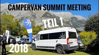 Campervan Summit Meeting 2018 mit Westfalia & Dr. Camp | Teil 1