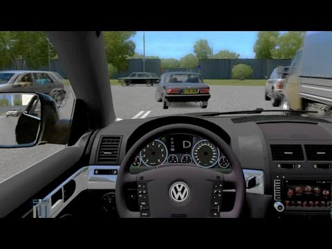 City Car Driving Volkswagen Touareg R50