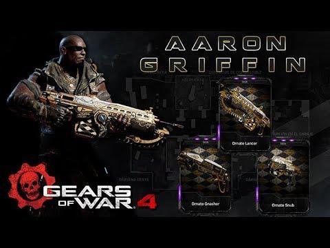 """Gears of War 4 l 1ra. Partida Debut """" AARON GRIFFIN"""" l ¿Donde están sus dialogos ? l 1080p Hd"""