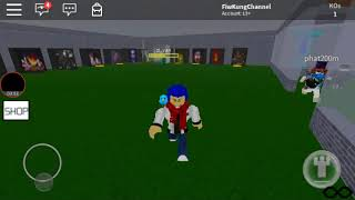 Roblox:Map Nightmare Fighter