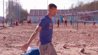 видео Тактика игры на блоке в пляжном волейболе