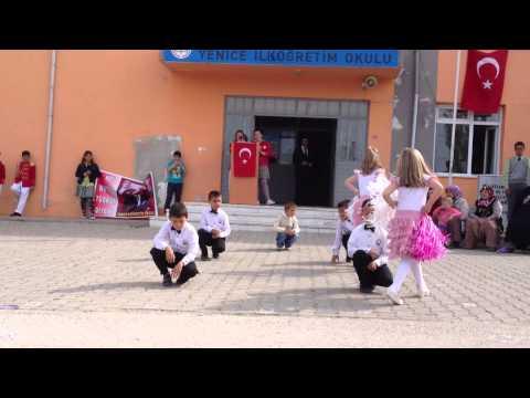 Yenice İlköğretim  Okulu 2-A Sınıfı 23 Nisan Dans Gösterisi (Aşkım Baksana Bana)