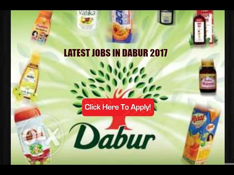 JOBS IN DABUR INDIA