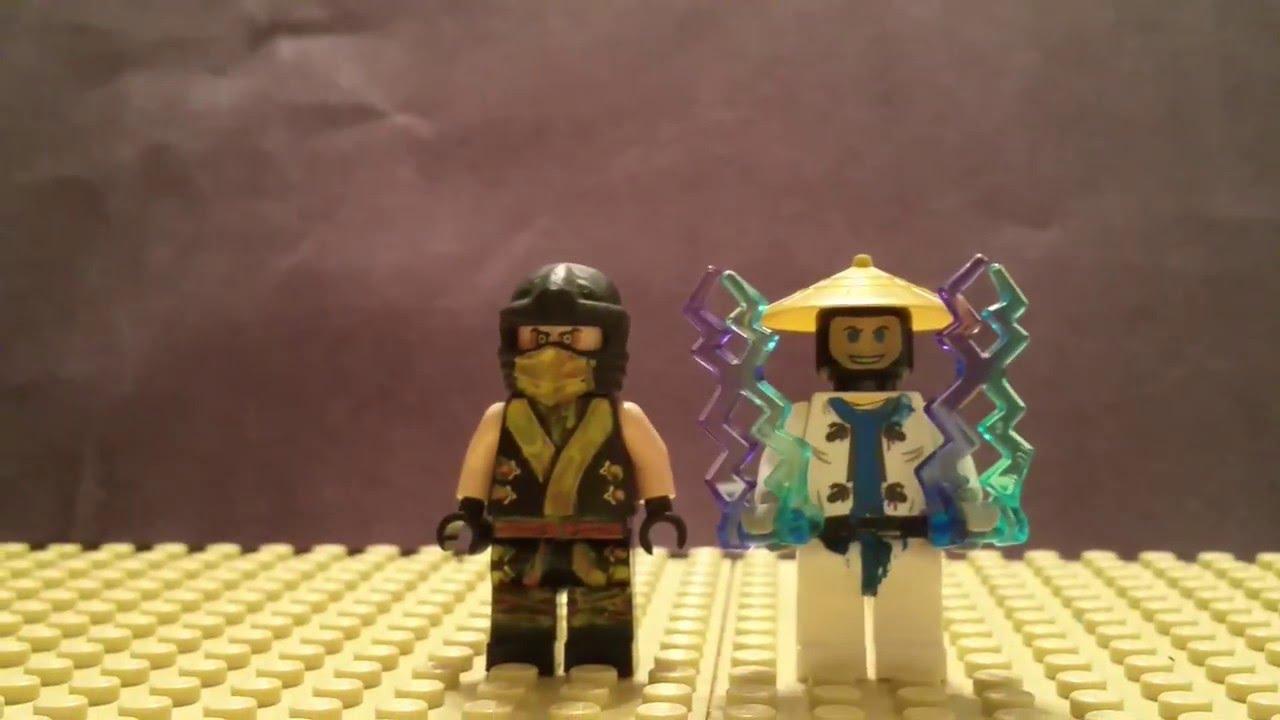 Lego custom Mortal Kombat Scorpion and Riaden - YouTube  Lego custom Mor...
