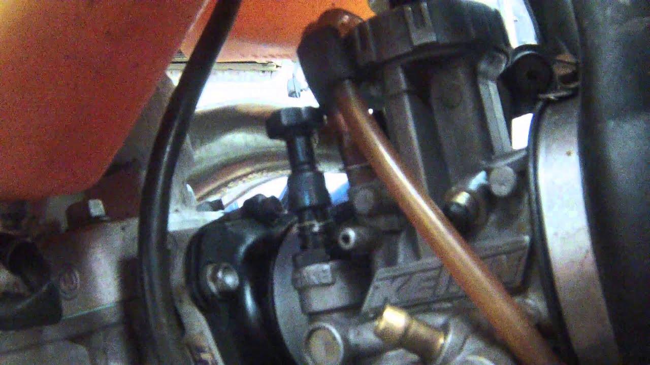 1978 Honda Cb750 Wiring Diagram Goodman Fan Relay Choke Wont Stay Up No Problem Watch This Easy Fix Youtube