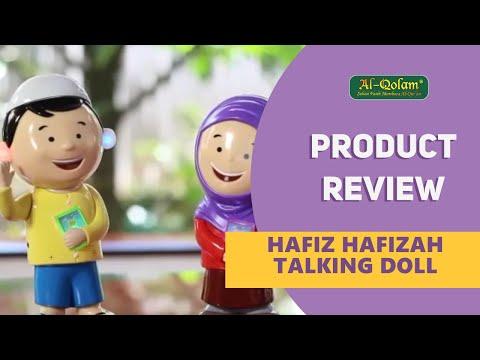Al Qolam | Hafiz Hafizah Talking Doll - Produk Edukasi dari Alqolam