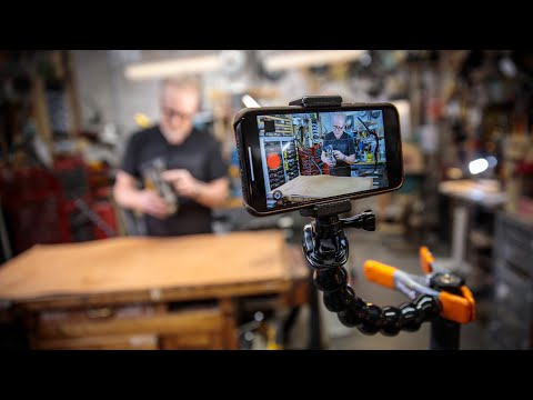 How Adam Savage Films Himself in Self-Isolation