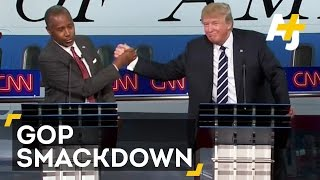 cnn republican presidential debate or a wwe smackdown