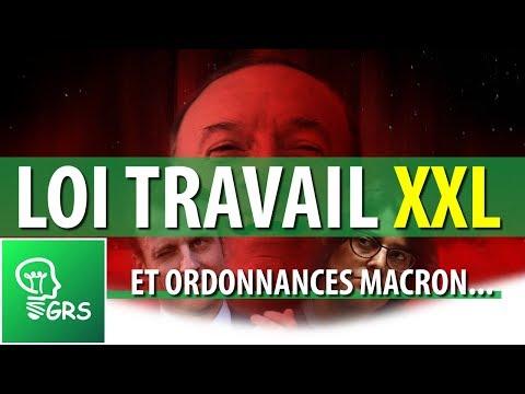 Loi Travail XXL et ordonnances Macron...