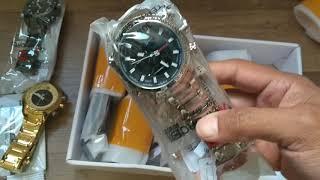 Como Comprar Vários Relógios e não ser TAXADO - Unboxing Naviforce 9093 Aliexpress