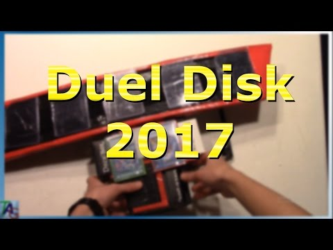 Best Functioning Homemade Duel Disk Intro!!