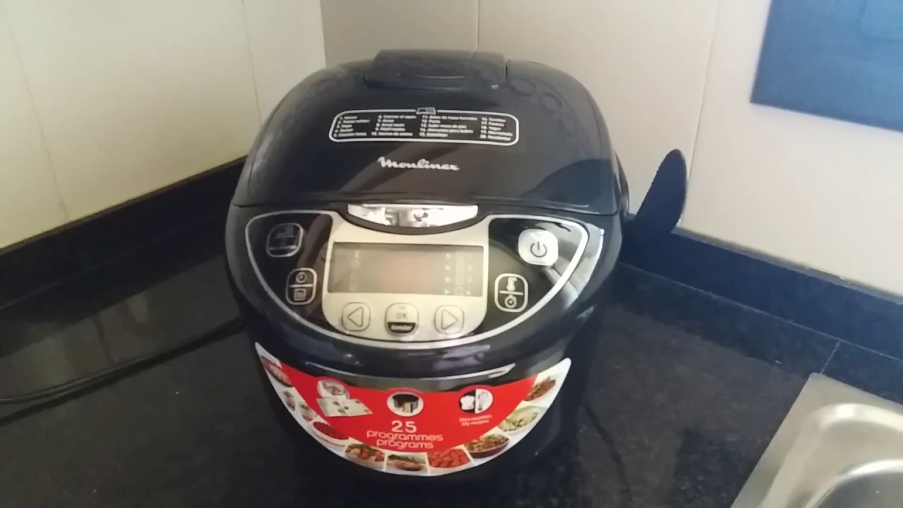 Recetas moulinex multicooker youtube - Robot de cocina moulinex 25 en 1 ...