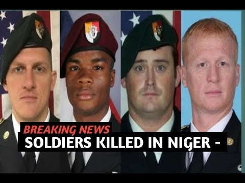 BREAKING NEWS TODAY 10/23/17, SOLDIERS KILLED IN NIGER - TOP USA NEWS,