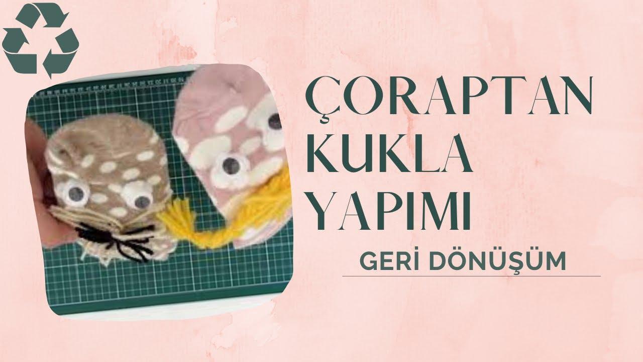 How to Make SOCK Puppets 4 / Çorap Kukla  - Farklı bir teknik - DIY - QPerformans