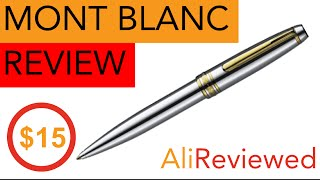 MONT BLANC MEISTERSTÜCK Pen Review - $15 on AliExpress
