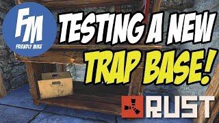 TESTING A NEW TRAP BASE!   Rust Trap Base Series S12E01