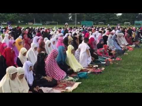 Muslim Filipinos Celebrate Eid al-Fitr