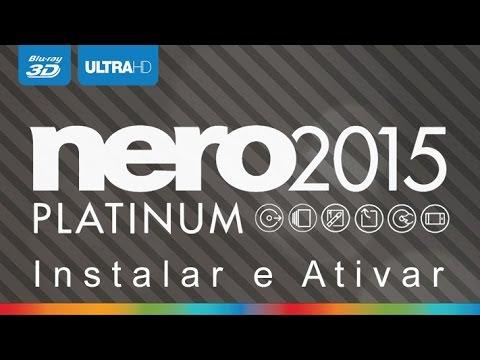 Como Instalar e Ativar o Nero 2015 Platinum v16.0