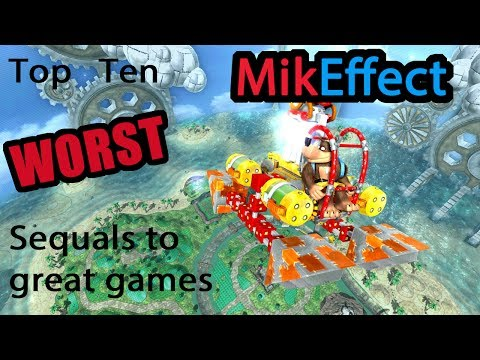 Top Ten Worst Sequels to Great Games-MikEffect