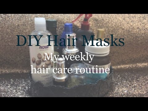 My DIY Hair Masks | How to Stop Hair Fall and Stimulate hair growth