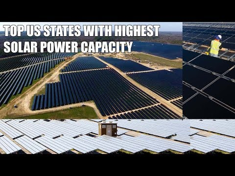 5 US States With Highest Solar Renewable Energy Capacity